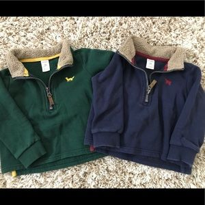 Bundle of Carter's Pullovers